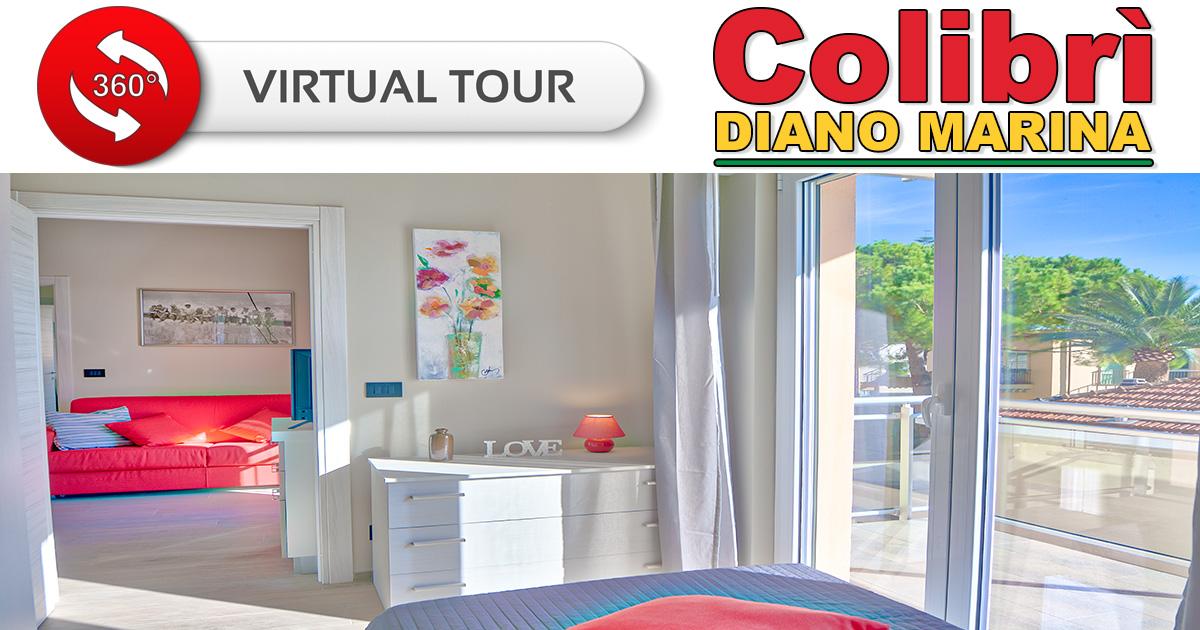 Virtual Tour - Colibrì Apartments Diano Marina